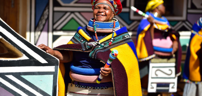 OStudioPost Culture Corner with the Ndebele Heritage