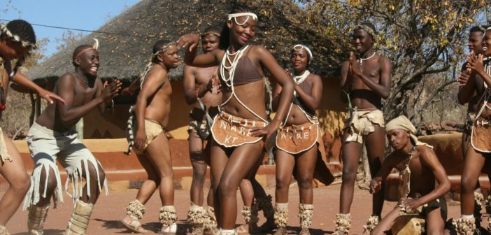 Ostudio Post Culture Corner with Tswana culture