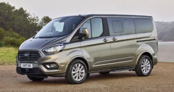 New Ford Tourneo Custom Van with Upgraded Design and Interior
