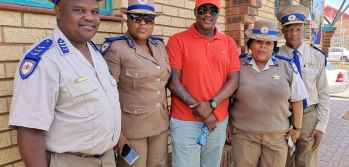 Jub-Jub Joins Forces With Government On Road Safety Campaign