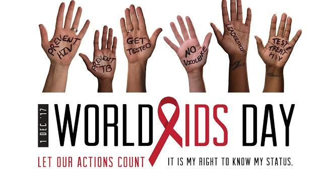 """2018 World AIDS Day Theme """"Know Your Status"""""""