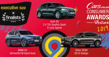 Wesbank Cars Consumer Awards 2019 finalists