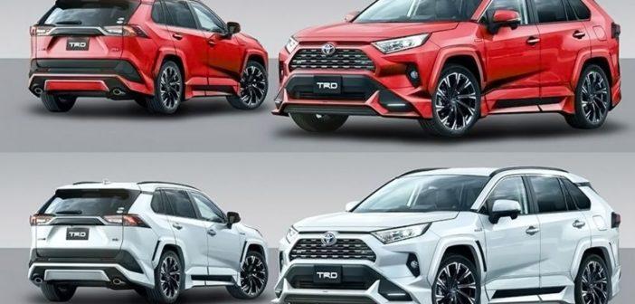 New Toyota RAV4 Receives TRD Goodies